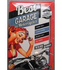 plaque  best garage...
