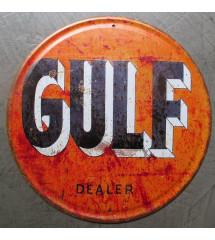 plaque gulf dealer orange...