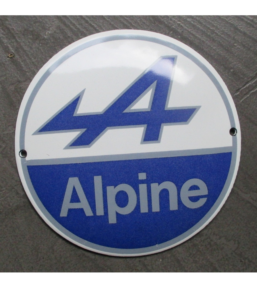 plaque email alpine