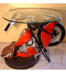 table basse moto indian...