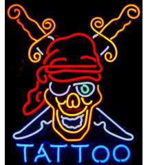 néon publicitaire tattoo...