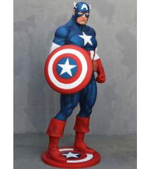 statue géante captain avec...