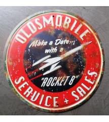 plaque oldsmobile rocket 8...
