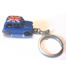 porte clé mini austin bleu...