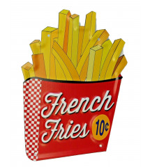 plaque french fries...