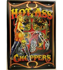 plaque hot ass choppers pin...