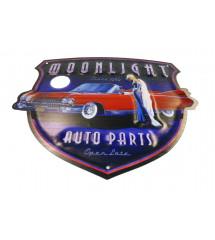 plaque moonlight auto parts...