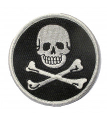 patch crane pirate rond...