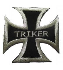 patch croix de malte triker...
