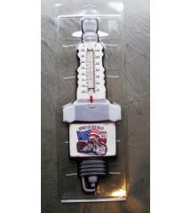 thermometre en forme de...