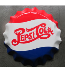 plaque pepsi cola capsule...