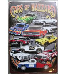 plaque cars of hazzard...
