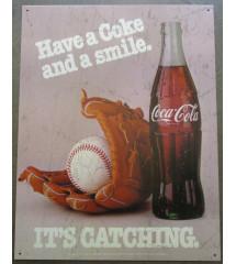 plaque decorative coca cola...
