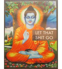 plaque decorative bouddha...