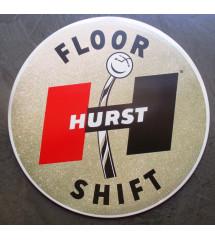 plaque floor hurst shift...