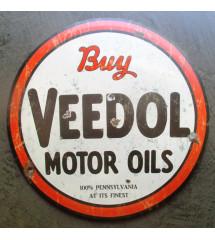 plaque buy veedol motor oil...