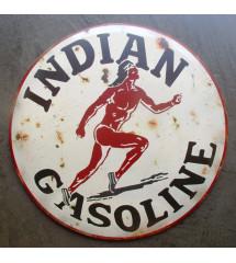 plaque indian gasoline...