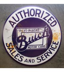 plaque authorized buick...
