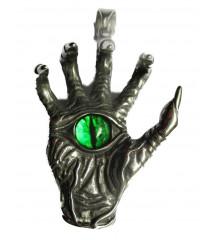 gros pendentif main et oeil...