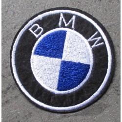 patch 7.5cm bmw logo rond...