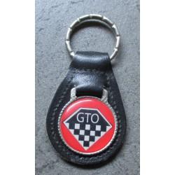 porte clé métal cuir pontiac GTO automobile muscle car usa