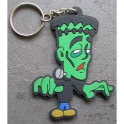 porte clé frankenstein plastique souple horreur monstre