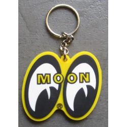 porte clé moon jaune mooneyes import usa plastique souple
