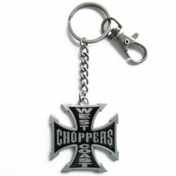 porte clé west coast choppers pic noir WCC keychain
