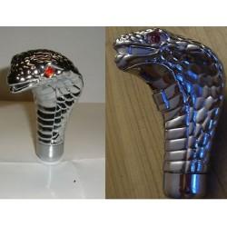 levier de vitesse serpent cobra plastique chromé universel