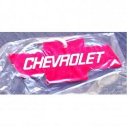 désodorisant logo chevrolet rouge camro kruse corvette