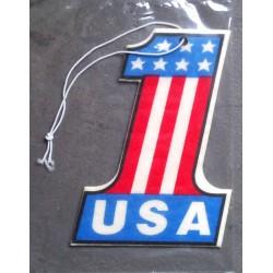 désodorisant 1  drapeau usa americain auto universel