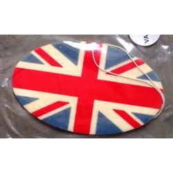 désodorisant drapeau anglais oval auto universel
