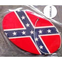 désodorisant drapeau rebel oval auto universel dixie