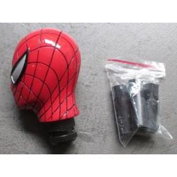 levier de vitesse spiderman rouge pommeau auto universel