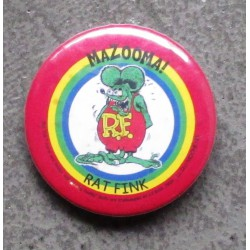 badge rat fink mazooma ideal casquette kustom pins rock