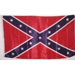 drapeau rebel  nylon 150x90 flag biker rock roll general lee