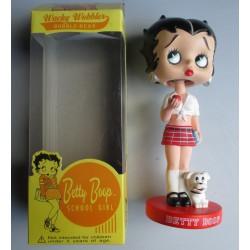 figurine betty boop ecoliere scholl girl statuette bobble