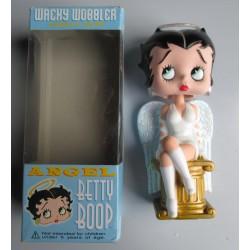 figurine betty boop ange 17cm bobble head statuette funko