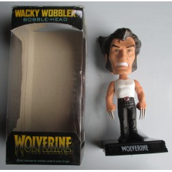 figurine wolverine super hero statuette bobble head griffe