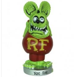 figurine rat fink tete verte corp rouge statuette big daddy