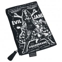 pochette à maquillage evil jane pin up tatoué rock roll punk