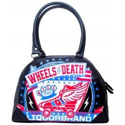 sac a main bowling liquor brand wheel of death roller aillé
