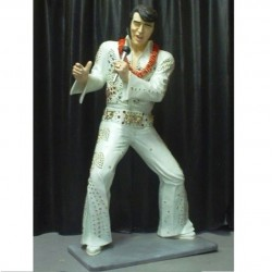 statue géante elvis presley hawaii taille réel king rock rol