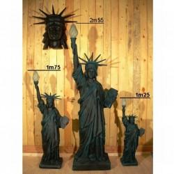 statue de la liberté 3 tailles deco usa bar diner loft diner