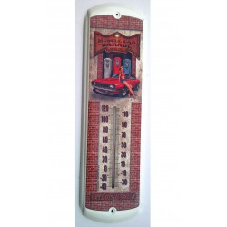 thermometre chevrolet camaro 69 pin up pompe a essence