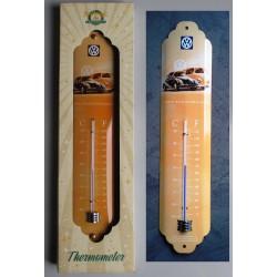 thermometre coccinelle et combi vw volkswagen tole metal