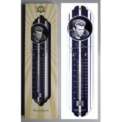 thermometre james dean et cigarette tole deco bar diner usa