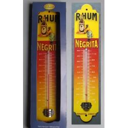 thermometre rhum negrita alcool deco bar diner cuisine tole