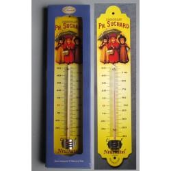 thermometre chocolat suchard 3 enfants deco cuisine tole bar