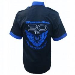 chemise pontiac 30th anniversaire chemisette homme S au 6XL